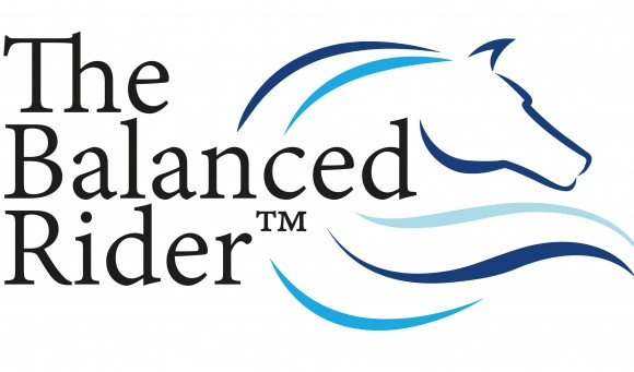 The logo for the balanced rider program.