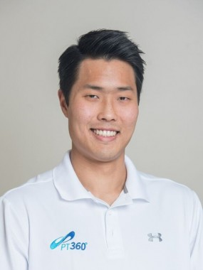 A portrait of JonQ Choi, DPT