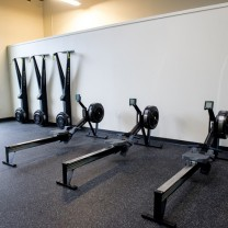A photo of exercise and rehab equipment at the PT360 South Burlington Vermont studio