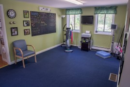 A photo of the PT360 physical therapy office in Burlington Vermont