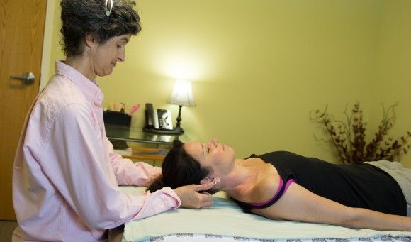 Craniosacral Therapy performed by a PT2360 physical therapist
