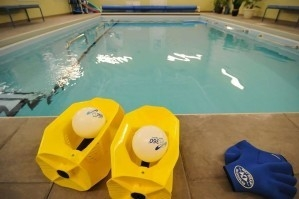 A photo of equipment used in aquatic therapy at PT360