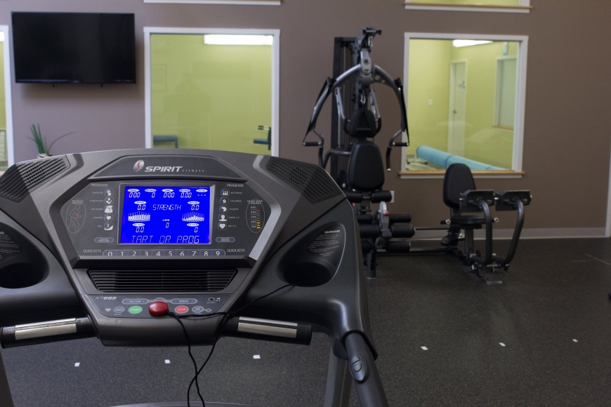 A photo of some exercise equipment in a PT360 studio