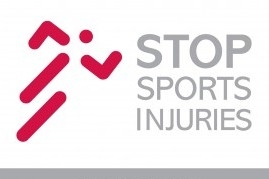 The logo for the stop sports injuries campaign